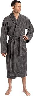 Trends Alley – Jacquard Velour Terry Bathrobe / Terry Cloth Robe for Men / Women, Spa Robe / Sleepwear, 100% Combed Cotton