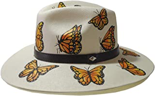 "MARTHA BETANZOS -""Sombrero mariposas"""