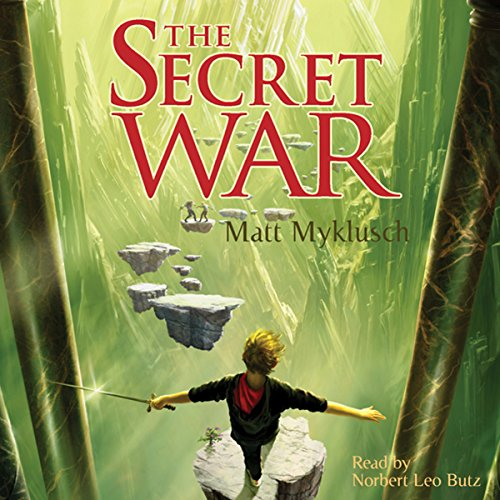 Jack Blank and the Secret War audiobook cover art