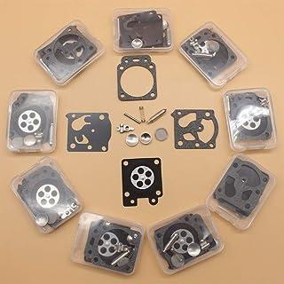 10 unids/lote Kit de reparación de carburador para soplador Poulan Pro Craftsman 545081855 Walbro WT-875-A WT875