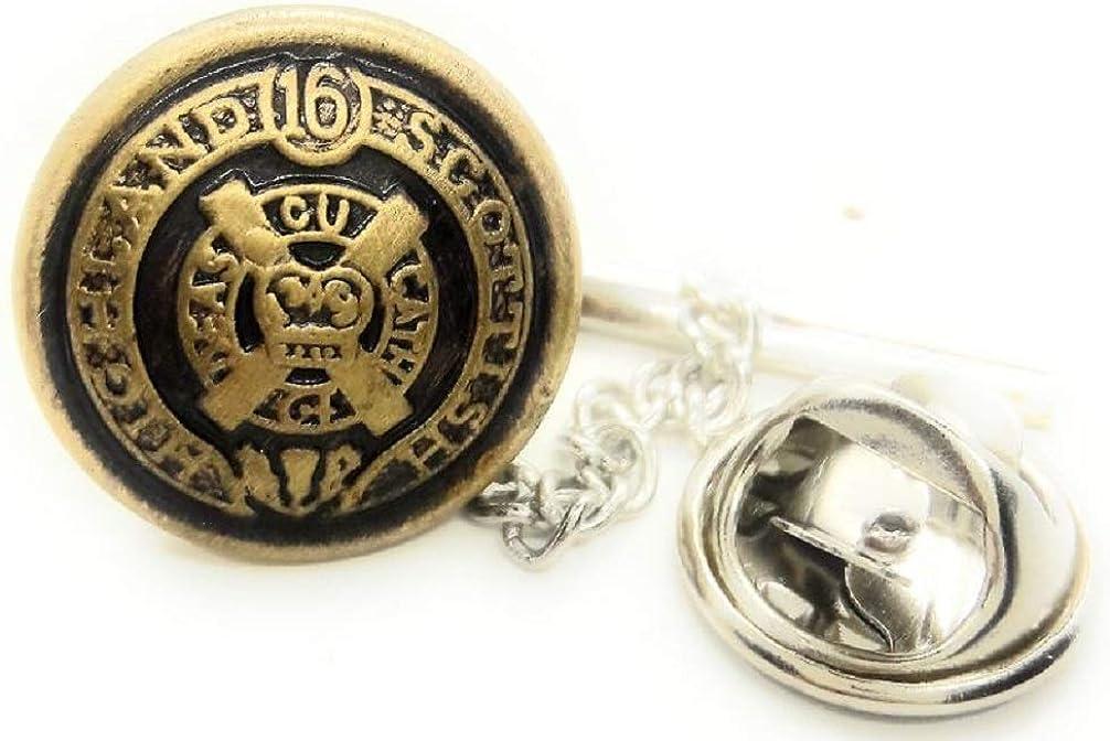 MENZ JEWELRY ACCS. Vintage Scottish PIN TACK Nippon regular agency TIE Highland Many popular brands Lapel