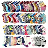 20 Pairs Wholesale Baby Cotton Socks for Girls 1-4T