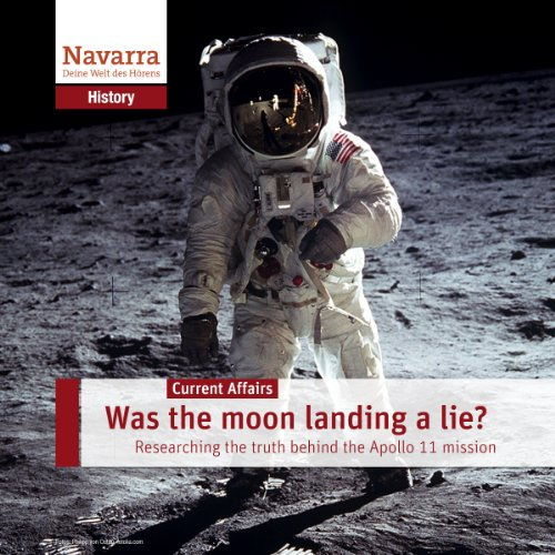 Was the moon landing a lie? audiobook cover art