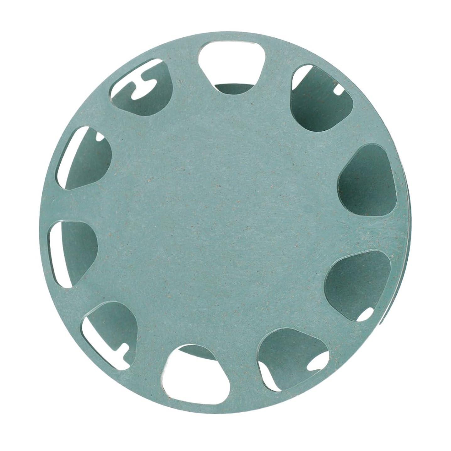 アレルギーブロー六プラスチック スプール 巻線板 釣り糸用 丸形 タックル ボビン ラインボード 整理ツール グリーン