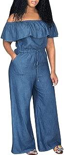 Best plus size denim pants jumper Reviews