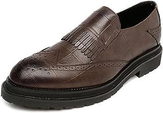 [ワイエルワイ] シューズ メンズ PUレザー 通気性 フォーマル ビジネス クラシック 紳士靴