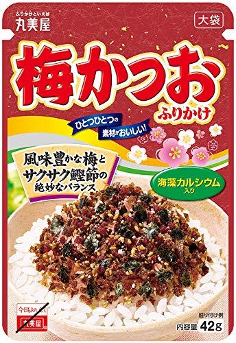 丸美屋食品工業 梅かつおふりかけ 大袋 42g×10個