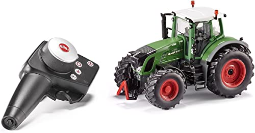 SIKU 6880, Ferngesteuerter Fendt 939 Traktor, 1 32, Inkl. Fernsteuermodul, Metall Kunststoff, Grün, Batteriebetrieben, Kompatibel mit Anbauger n