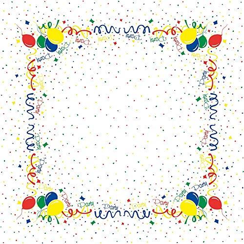 Tischdecken aus Airlaid | Mitteldecken 80 x 80 cm | Mank Einmal-Tischdecke für Gastronomie und Feiern | 20 Stück| PARTY