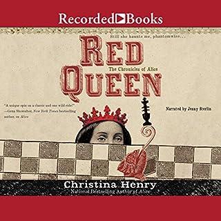 Red Queen audiobook cover art