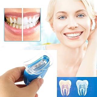 CXQZLH Blanqueamiento Dental Cuidado blanqueador Dental Hogar Dental Dental Mini LED Blanqueado Luz Oral Dientes Belleza Instrumento, Azul,3Pcs