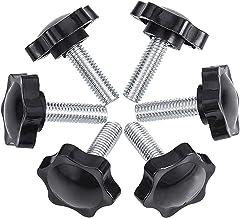 INCREWAY kartelschroef met schroefdraad M6/M8/M10 x 25 mm, grepen, knoppen in pruimenbloesemvorm M8