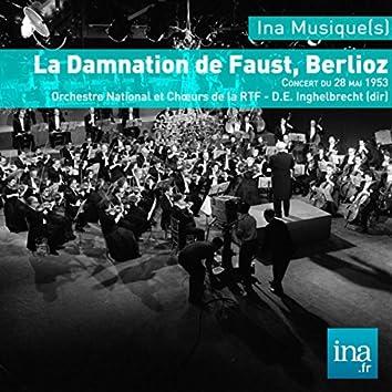 La Damnation  de Faust - Berlioz: O. National et Choeurs de la RTF