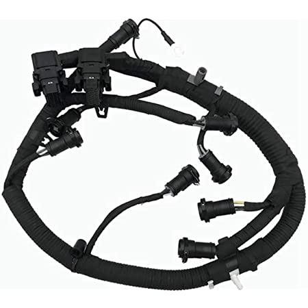 amazon.com: ficm fuel injector module wiring harness for 2003-2007 ford  f250 f350 f450 f550 super duty 6.0l powerstroke diesel : automotive  amazon.com