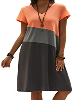 Suchergebnis Auf Amazon De Fur Orange Kleider Damen Bekleidung