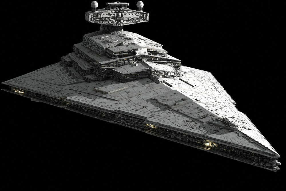 Imperial Star Destroyer shopping Wars - Canvas Wall SEAL limited product OR Print Art