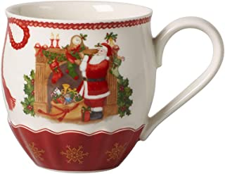 Villeroy & Boch Annual Christmas Edition 2019 Premium Porcelain Annual Mug, Red, Multicoloured, 0