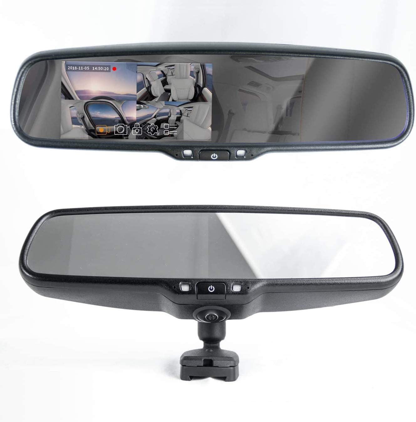 Master Tailgaters OEM Rear Time sale View Mirror Au Bright trust 4.5