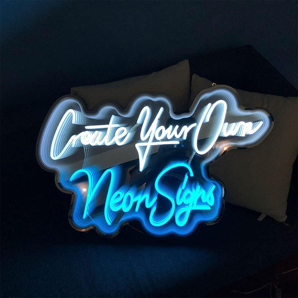 HDJSIGN Custom Neon Sign Multi-Layer List price W Japan Maker New LED Mirror Light for