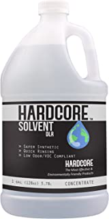 Solvent DLR by HARDCORE 1 Gallon Concentrate - General Powerful Solvent/Degreaser Cleaner