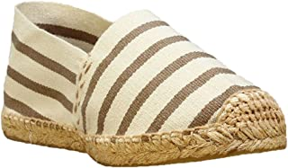 DIEGOS Women's Men's Espadrilles. Hand Made in Spain. (EU 39, Jute Stripes)