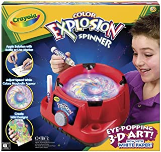 Crayola Color Explosion Spinner - Red