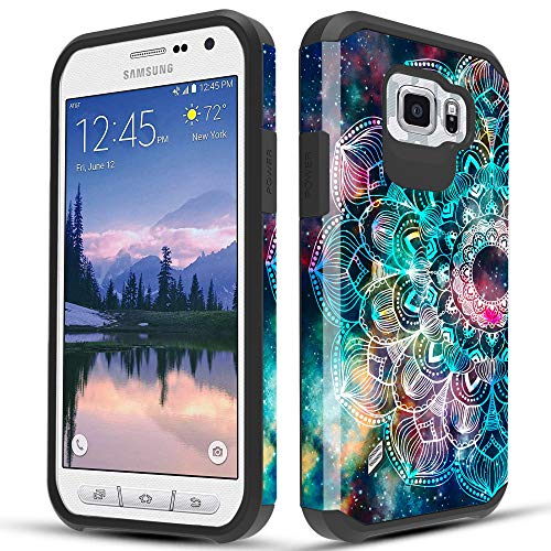 Townshop Galaxy S6 Active Case, Dual Layer Shockproof Hybrid Design...