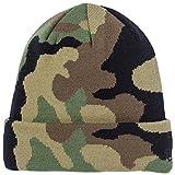 NEW ERA(ニューエラ) ニット帽 メンズ レディース BASIC CUFF KNIT ロゴ ビーニー 帽子 Free WCAMO/BLK basic-cuff-knit-11166141