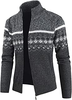 Men Jacket Men Jacket Fashion Casual Stand Collar Zipper Long Sleeve Sport Gentleman Elegant Classic Basic Festival Gift N...