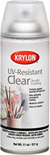 Krylon K01305 Artist and Clear Coating UV-Resistant Clear Gloss, 11 Ounce (6 Pack)