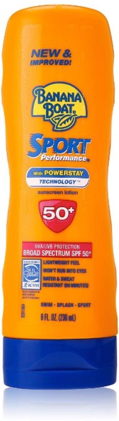 Banana Boat Sport Bargain sale Performance Sunscreen Lotion oz Pac 50 SPF 8 Max 64% OFF