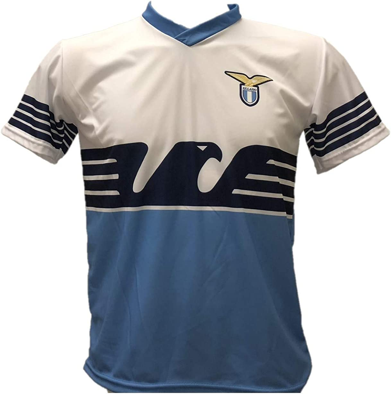 Maglia Calcio Lazio Sergej Milinkovic-Savic 21 Replica Autorizzata 2018-2019 Bambino (Taglie 6 8 10 12) Adulto (SML XL) - Sergej Milinković-Savić