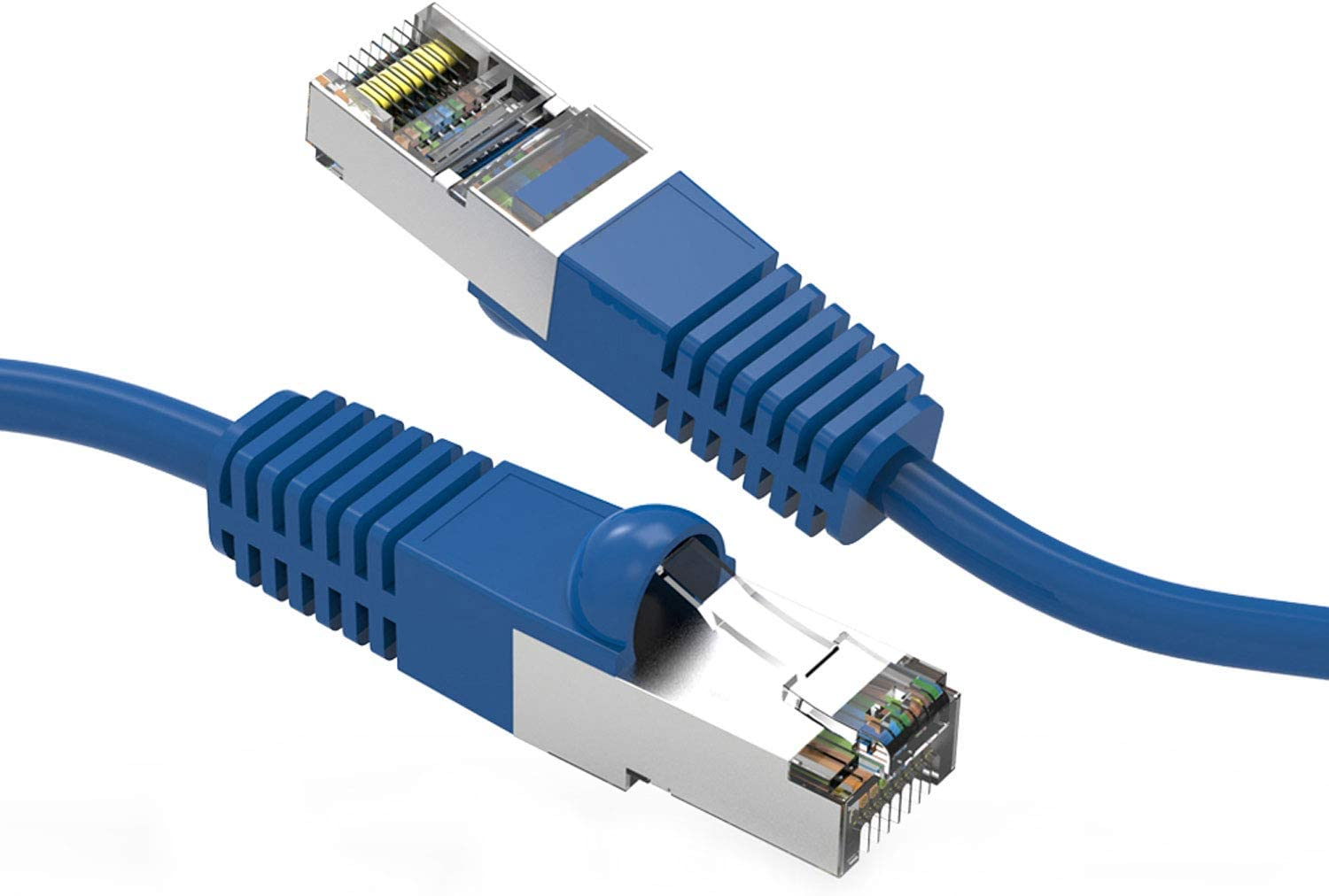 CABLECHOICE Financial sales sale Cat7 Beauty products SSTP Shielded Ethernet 20-Pack - Fe 25 Cable