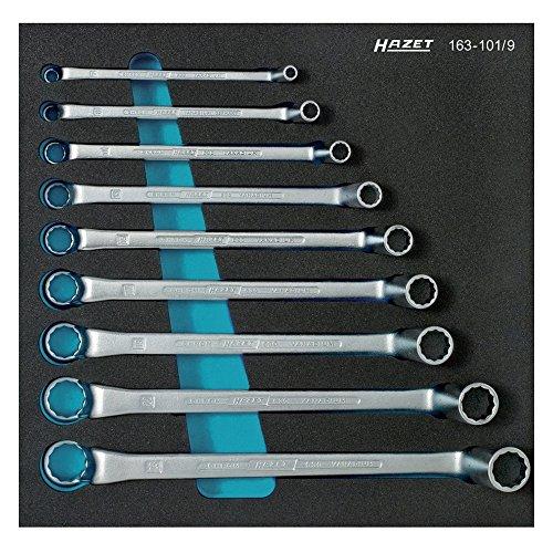 HAZET 163-101/9 Doppel-RingSchlüssel-Satz
