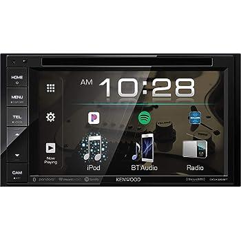 "Kenwood Ddx Double DIN SiriusXM Ready Bluetooth In-Dash DVD/CD/Am/FM Car Stereo Receiver W/ 6.2"" Touchscreen"