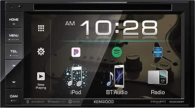 Kenwood Ddx Double DIN SiriusXM Ready Bluetooth In-Dash DVD/CD/Am/FM Car Stereo Receiver W/ 6.2