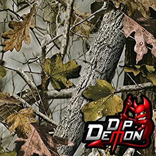 New Fall Dark Camo Camouflage Hunting Hydrographic Water Transfer Film Hydro Dipping Dip Demon