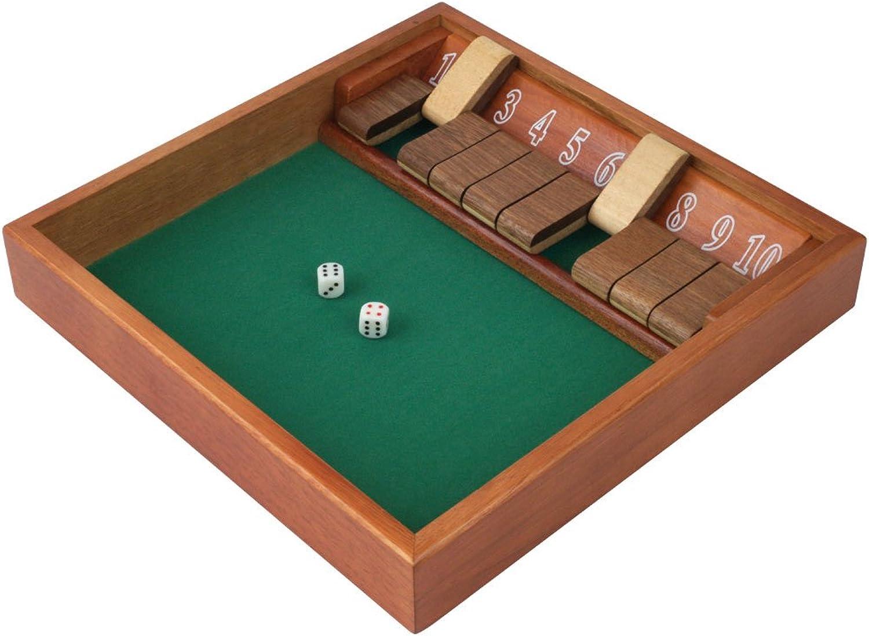 Trademark Games 80SHADOW10 Shut The Box (110) Zero Out Game