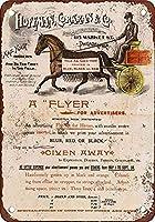 Horの壁の金属のポスターにあなたの広告を置いてくださいレトロなプラークの警告ブリキのサインヴィンテージの鉄の絵の装飾オフィスの寝室のリビングルームクラブのための面白いハンギングクラフト