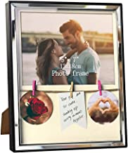 Artsay 5x7 Picture Frame with Mat Clips Family Photo Frames Shadow Box, Wall Hanging and Tabletop, Black, Glass Front