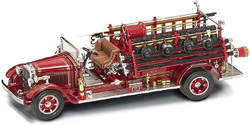 Yat Ming YM20188 Buffalo Type 50 1932 FIRE Truck 1 24 MODELLINO DIE CAST Model kompatibel mit