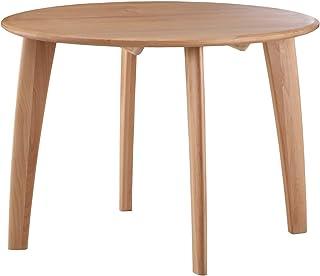 無垢材 ダイニングテーブル マフィン 100cm 円形