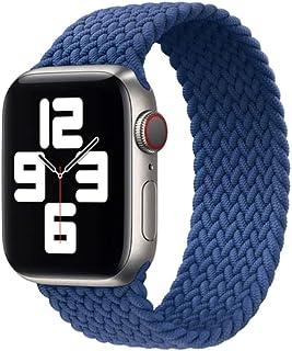 Serie 6543 Correa de reloj trenzada Correa deportiva de silicona para reloj IWO 6 5 4 3 44 mm 40 mm 42 mm 38 mm Correa de ...