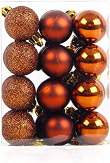 ALIMITOPIA 24pcs Christmas Ball Baubles,1.2