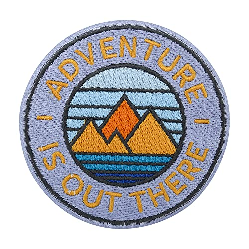 Adventure Collection: Adventure is out there Patch - Parche termoadhesivo para hacer senderismo o mochilas
