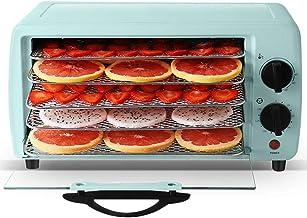Máquina de conservación de alimentos para el hogar Secador de frutas, Secador de frutas de la puerta de vidrio visible de ahorro de energía de múltiples funciones en casa, 300W