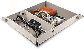 Londo - Boîte de Rangement Pratique pour Portefeuilles, Montres, clés, pièces de Monnaie, téléphone Portable et matériel d...
