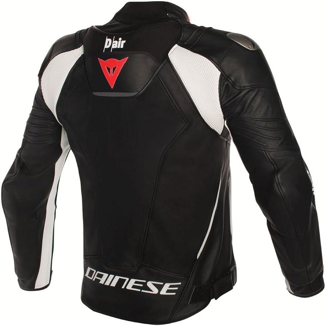 Dainese Misano D Air Motorbike Jacket Leather Jacket With Protector Unisex Sportsmen Summer Bekleidung