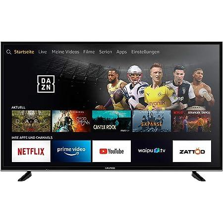 Grundig Vision 7 - Fire TV Edition (55 GUB 7060) 139 cm (55 Zoll) Fernseher (Ultra HD, Alexa-Sprachsteuerung, HDR) schwarz [Modelljahr 2019]