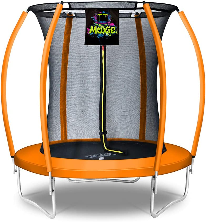 Moxie by Upper Popular standard Free Shipping New Bounce 6 FT Outdoor wit Pumpkin-Shaped Trampoline